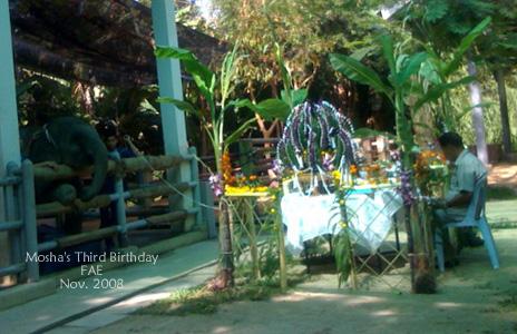 Mosha's 3rd Birthday