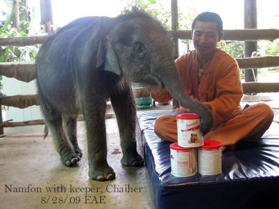 Namfon and Chaiher
