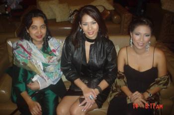 Miss Soraida, Miss Vachini, and Miss Oscar