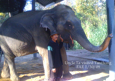 UncleTa Visits Tanthong